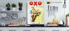 OXO Advertising Metal Wall Sign    Vintage advertising sign   Kitchen wall art
